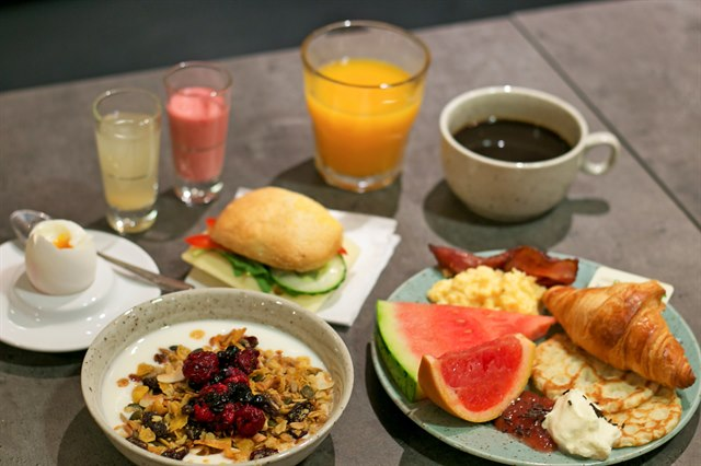 Indulge In Our Delicious Breakfast Buffet