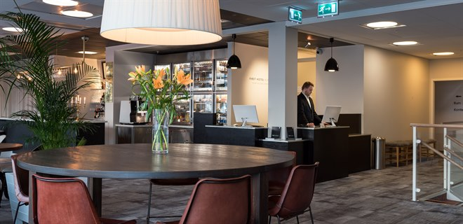 lobby och reception